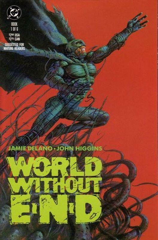 Cover of World Without End (1990 Ltd) #1. One of 250,000 Vintage American Comics on sale from Krypton!