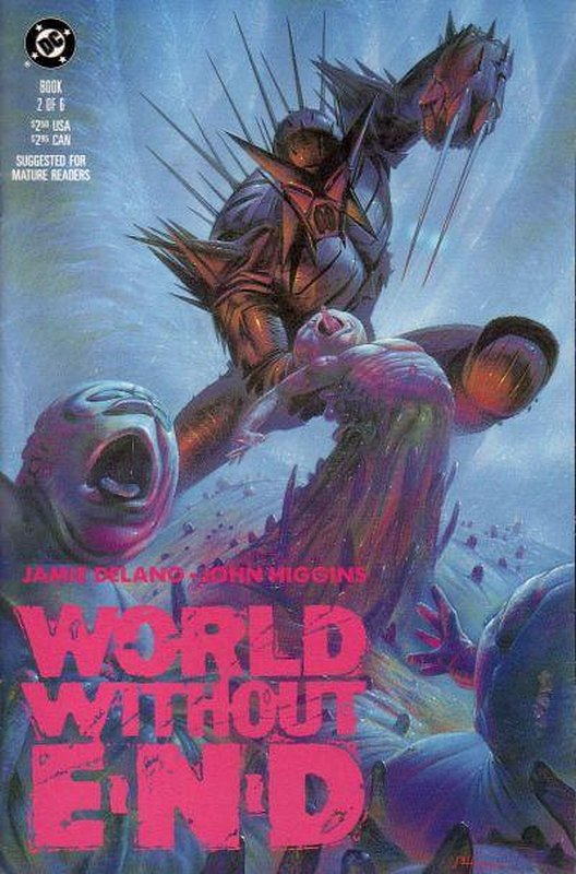 Cover of World Without End (1990 Ltd) #2. One of 250,000 Vintage American Comics on sale from Krypton!