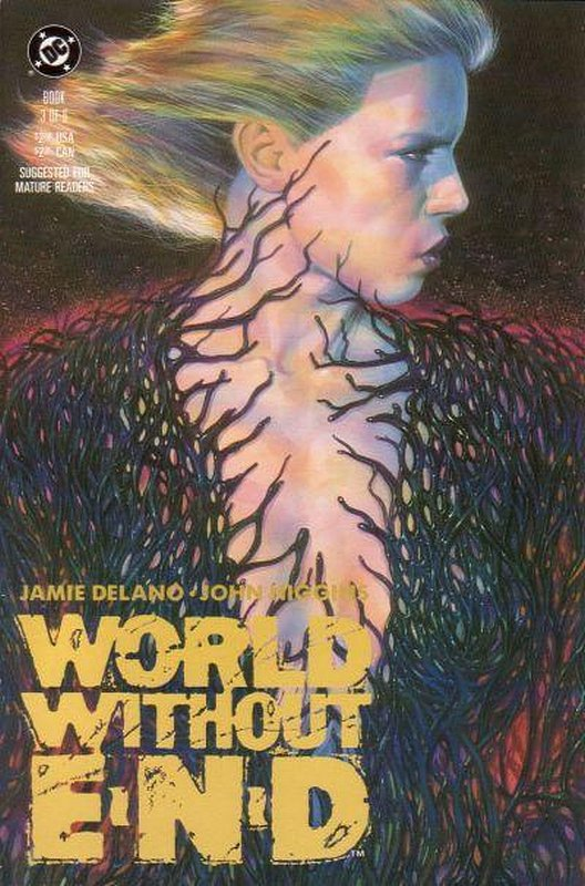 Cover of World Without End (1990 Ltd) #3. One of 250,000 Vintage American Comics on sale from Krypton!