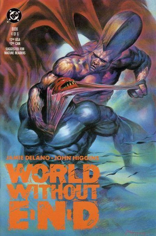 Cover of World Without End (1990 Ltd) #4. One of 250,000 Vintage American Comics on sale from Krypton!