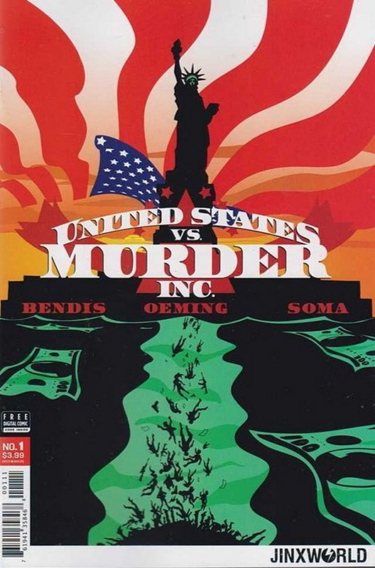 Cover of United States vs Murder Inc. (2017 Ltd) #1. One of 250,000 Vintage American Comics on sale from Krypton!