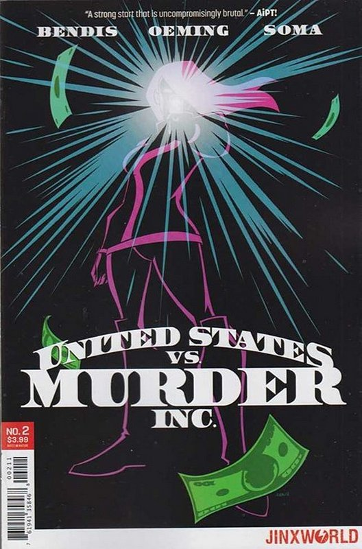 Cover of United States vs Murder Inc. (2017 Ltd) #2. One of 250,000 Vintage American Comics on sale from Krypton!