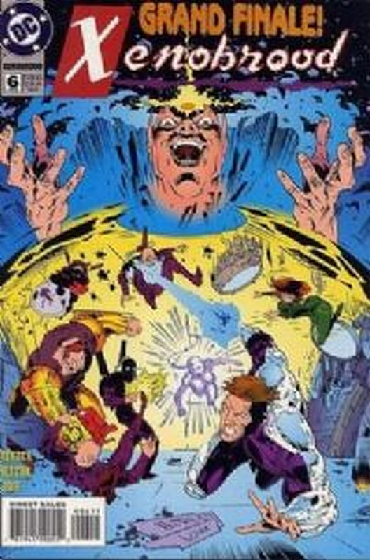 Cover of Xenobrood (1994 Ltd) #6. One of 250,000 Vintage American Comics on sale from Krypton!