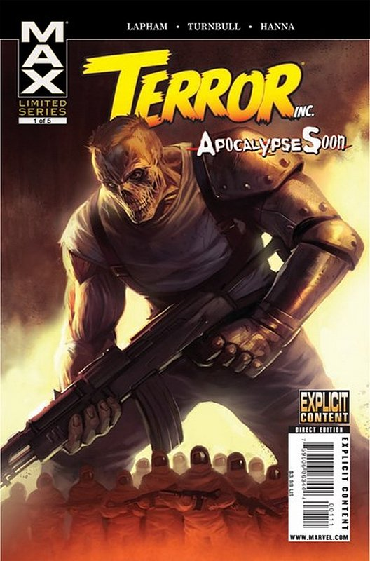 Cover of Terror Inc: Apocalypse Soon (2009 Ltd) #1. One of 250,000 Vintage American Comics on sale from Krypton!