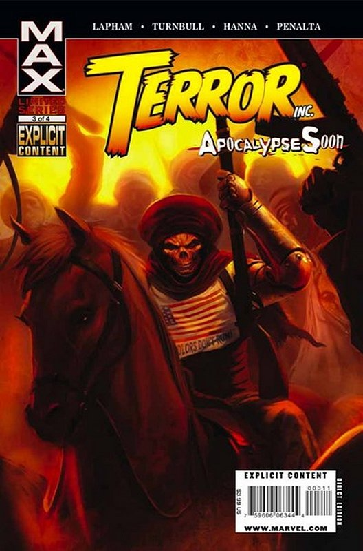 Cover of Terror Inc: Apocalypse Soon (2009 Ltd) #3. One of 250,000 Vintage American Comics on sale from Krypton!