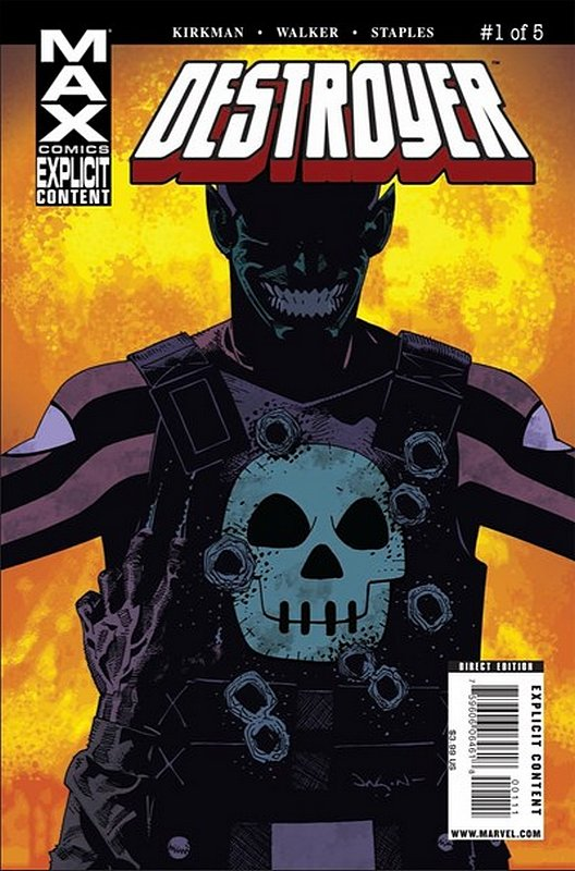Cover of Destroyer (2009 Ltd) #1. One of 250,000 Vintage American Comics on sale from Krypton!
