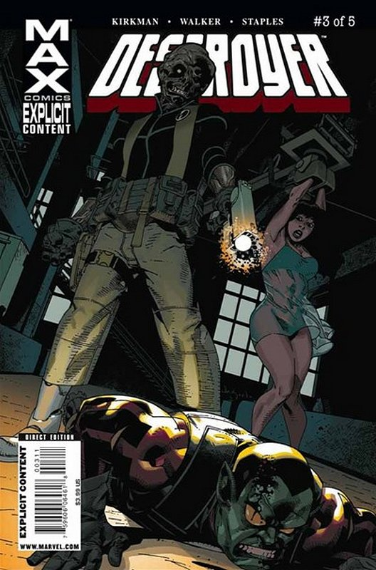 Cover of Destroyer (2009 Ltd) #3. One of 250,000 Vintage American Comics on sale from Krypton!