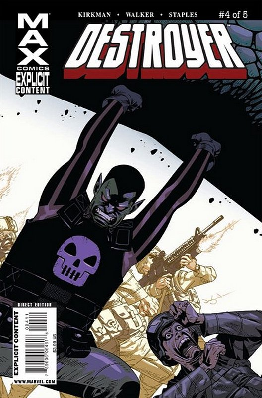 Cover of Destroyer (2009 Ltd) #4. One of 250,000 Vintage American Comics on sale from Krypton!