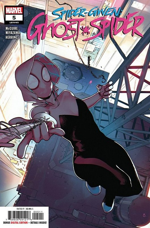 Cover of Spider-Gwen AKA Ghost Spider (Vol 1) #5. One of 250,000 Vintage American Comics on sale from Krypton!