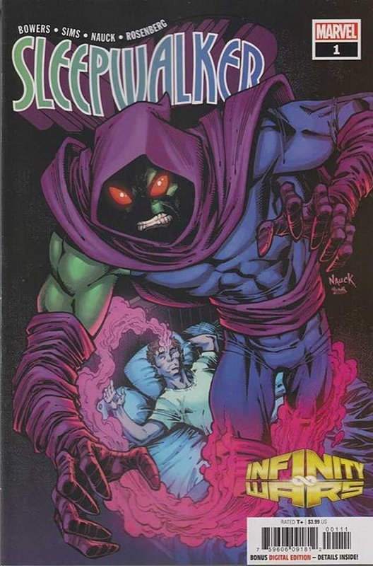 Cover of Infinity Wars: Sleepwalker (2018 Ltd) #1. One of 250,000 Vintage American Comics on sale from Krypton!