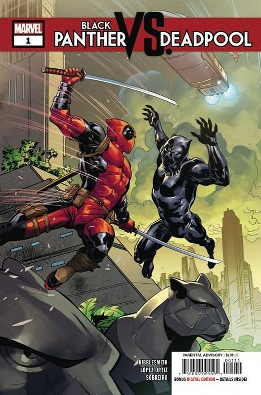 Cover of Black Panther vs Deadpool (2018 Ltd) #1. One of 250,000 Vintage American Comics on sale from Krypton!
