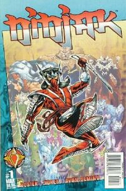 Cover of Ninjak (Vol 2) #1. One of 250,000 Vintage American Comics on sale from Krypton!