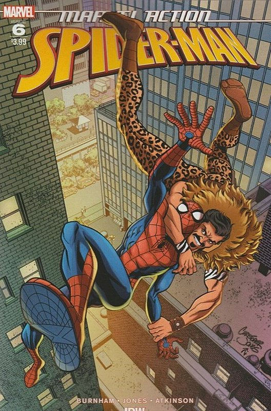 Cover of Marvel Action: Spider-Man (Vol 1) #6. One of 250,000 Vintage American Comics on sale from Krypton!