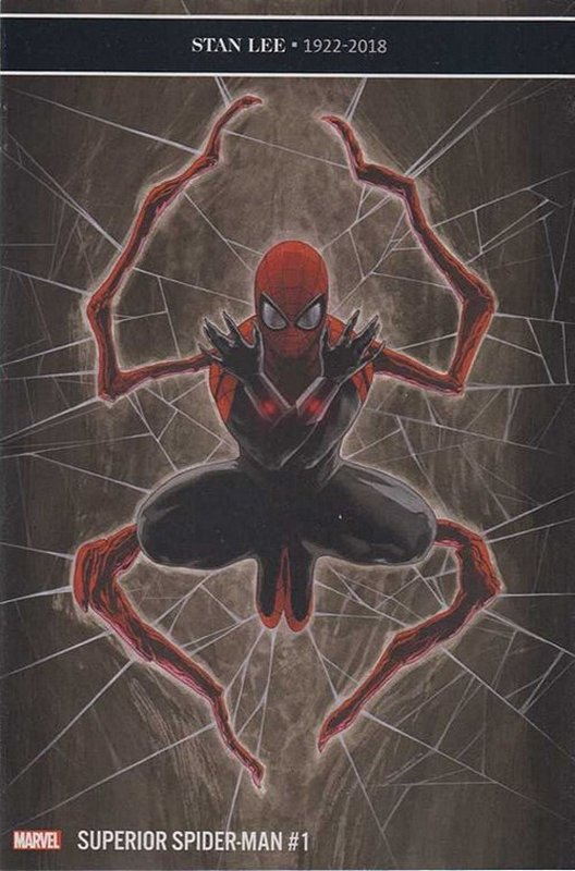 Cover of Superior Spider-Man (Vol 2) #1. One of 250,000 Vintage American Comics on sale from Krypton!