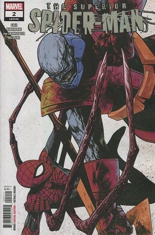 Cover of Superior Spider-Man (Vol 2) #2. One of 250,000 Vintage American Comics on sale from Krypton!