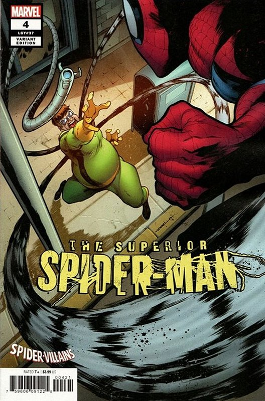 Cover of Superior Spider-Man (Vol 2) #4. One of 250,000 Vintage American Comics on sale from Krypton!