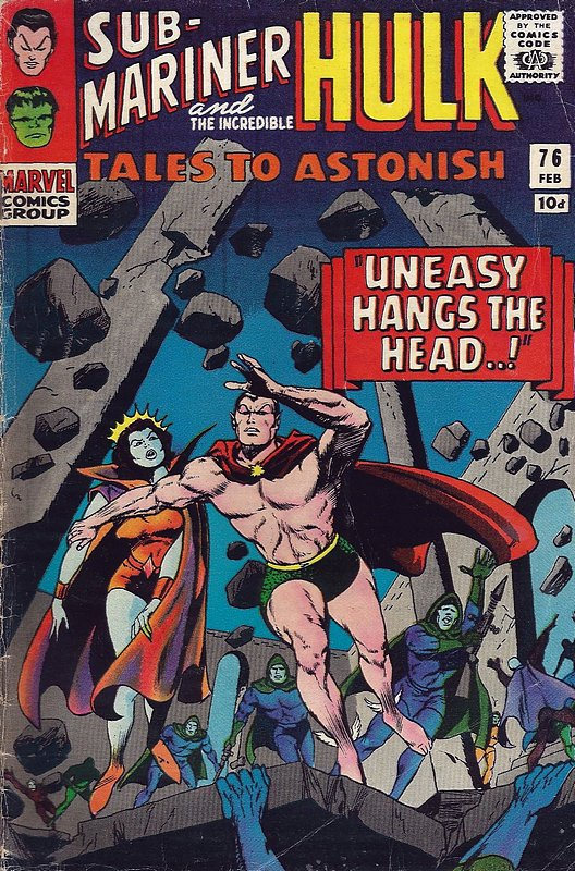 Cover of Tales to Astonish (Vol 1) #76. One of 250,000 Vintage American Comics on sale from Krypton!