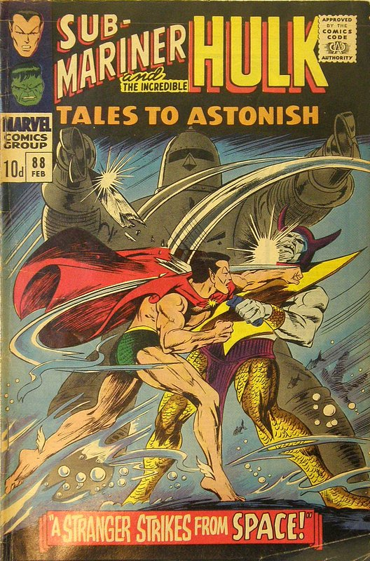 Cover of Tales to Astonish (Vol 1) #88. One of 250,000 Vintage American Comics on sale from Krypton!