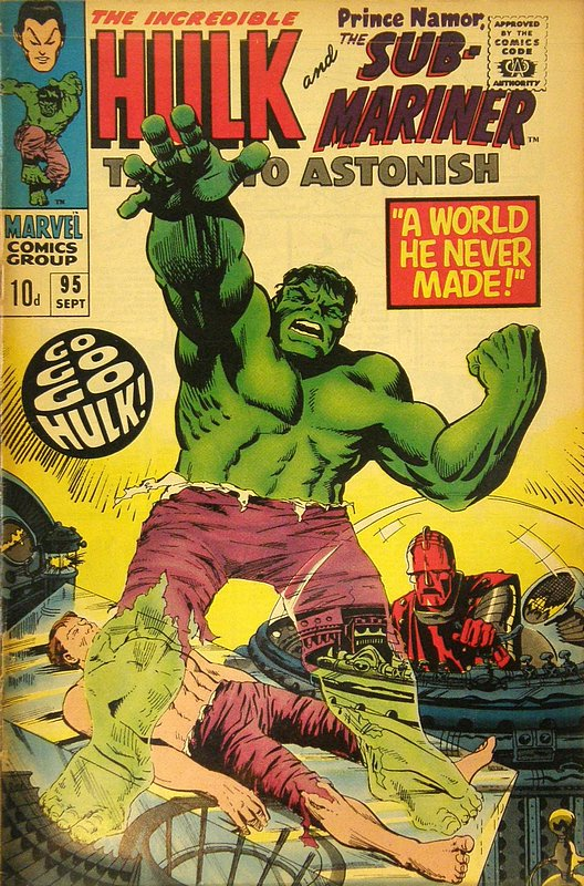 Cover of Tales to Astonish (Vol 1) #95. One of 250,000 Vintage American Comics on sale from Krypton!