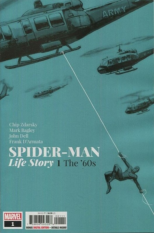 Cover of Spider-Man: Life Story (2019 Ltd) #1. One of 250,000 Vintage American Comics on sale from Krypton!