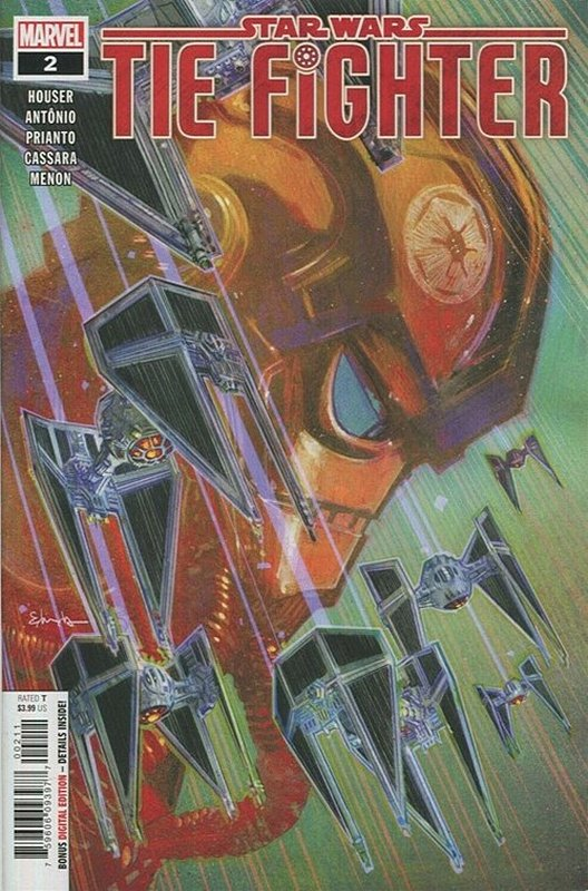 Cover of Star Wars: Tie Fighter (2019 Ltd) #2. One of 250,000 Vintage American Comics on sale from Krypton!