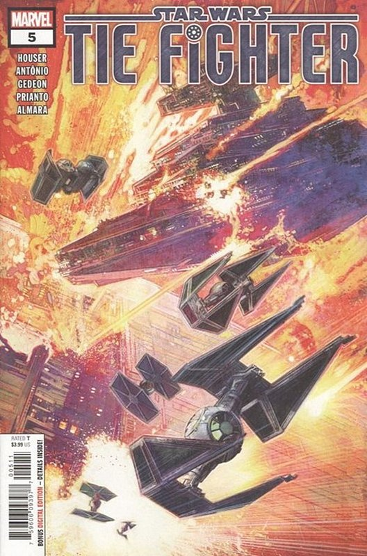 Cover of Star Wars: Tie Fighter (2019 Ltd) #5. One of 250,000 Vintage American Comics on sale from Krypton!
