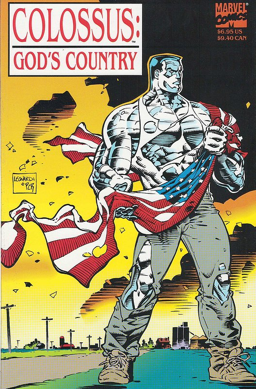 Cover of Colossus: Gods Country (1994 One Shot) #1. One of 250,000 Vintage American Comics on sale from Krypton!
