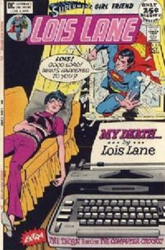 Cover of Lois Lane (Vol 1) Supermans Girl Friend #115. One of 250,000 Vintage American Comics on sale from Krypton!