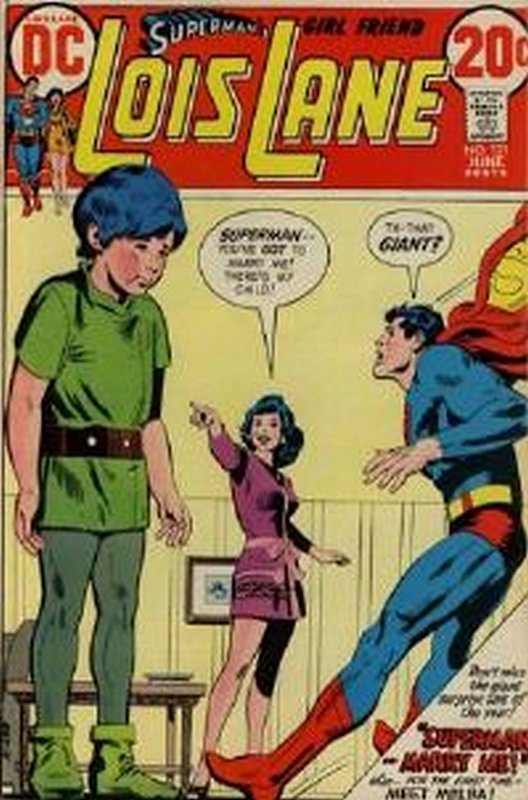 Cover of Lois Lane (Vol 1) Supermans Girl Friend #131. One of 250,000 Vintage American Comics on sale from Krypton!