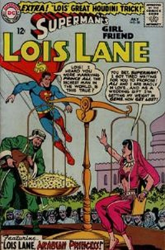 Cover of Lois Lane (Vol 1) Supermans Girl Friend #58. One of 250,000 Vintage American Comics on sale from Krypton!