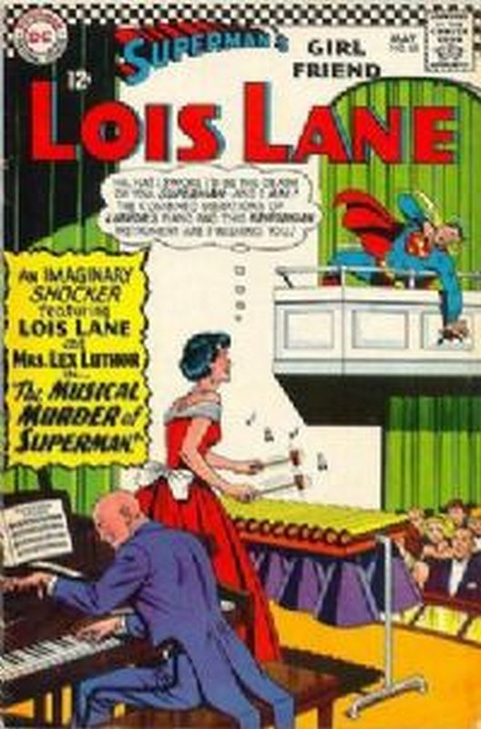 Cover of Lois Lane (Vol 1) Supermans Girl Friend #65. One of 250,000 Vintage American Comics on sale from Krypton!