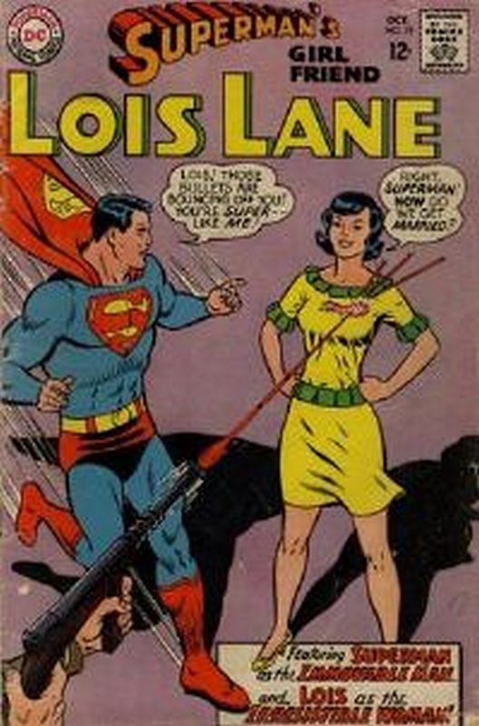Cover of Lois Lane (Vol 1) Supermans Girl Friend #78. One of 250,000 Vintage American Comics on sale from Krypton!