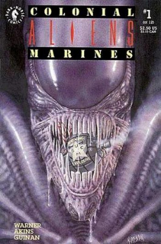 Cover of Aliens: Colonial Marines (1993 Ltd) #1. One of 250,000 Vintage American Comics on sale from Krypton!