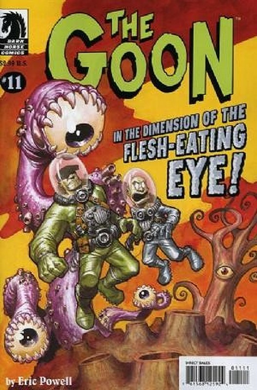 Cover of Goon (Vol 1) (Dark Horse) The #11. One of 250,000 Vintage American Comics on sale from Krypton!