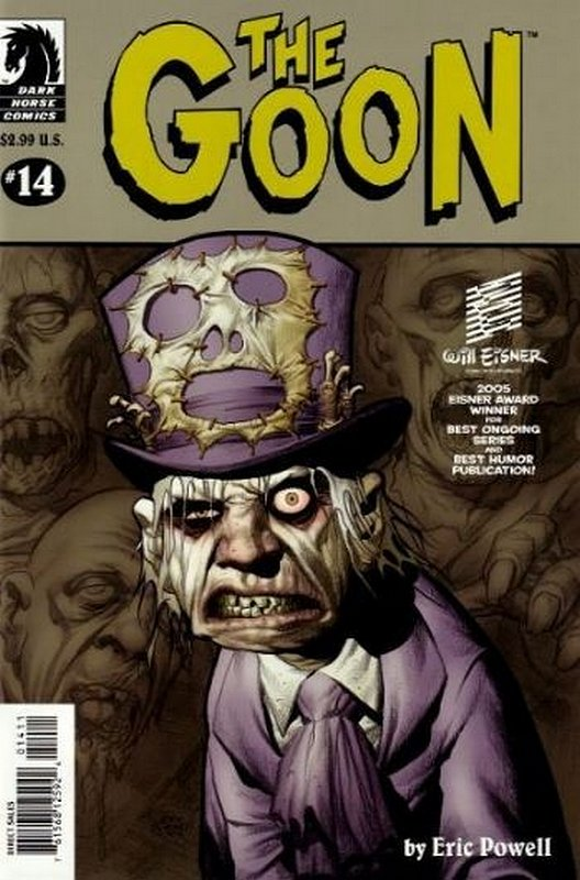 Cover of Goon (Vol 1) (Dark Horse) The #14. One of 250,000 Vintage American Comics on sale from Krypton!