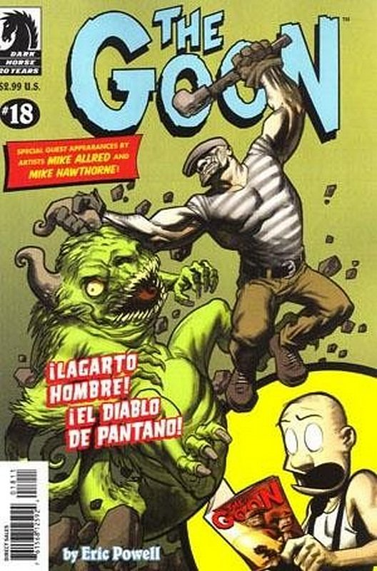 Cover of Goon (Vol 1) (Dark Horse) The #18. One of 250,000 Vintage American Comics on sale from Krypton!