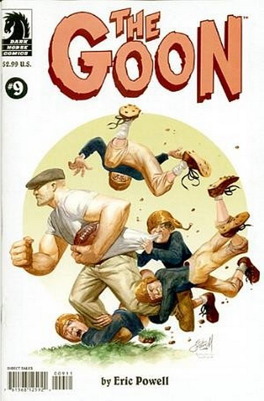 Cover of Goon (Vol 1) (Dark Horse) The #9. One of 250,000 Vintage American Comics on sale from Krypton!