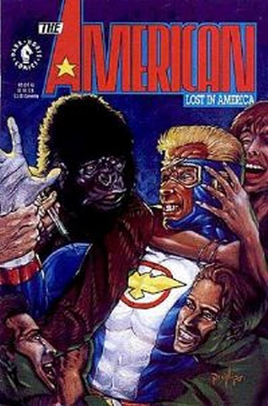 Cover of American: Lost in America #2. One of 250,000 Vintage American Comics on sale from Krypton!