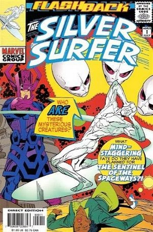 Cover of Silver Surfer (Vol 2) #-1. One of 250,000 Vintage American Comics on sale from Krypton!