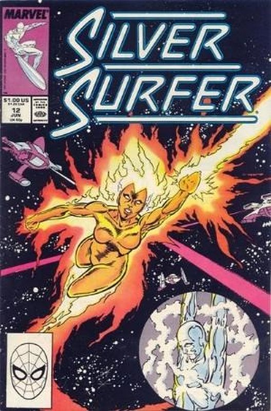Cover of Silver Surfer (Vol 2) #12. One of 250,000 Vintage American Comics on sale from Krypton!