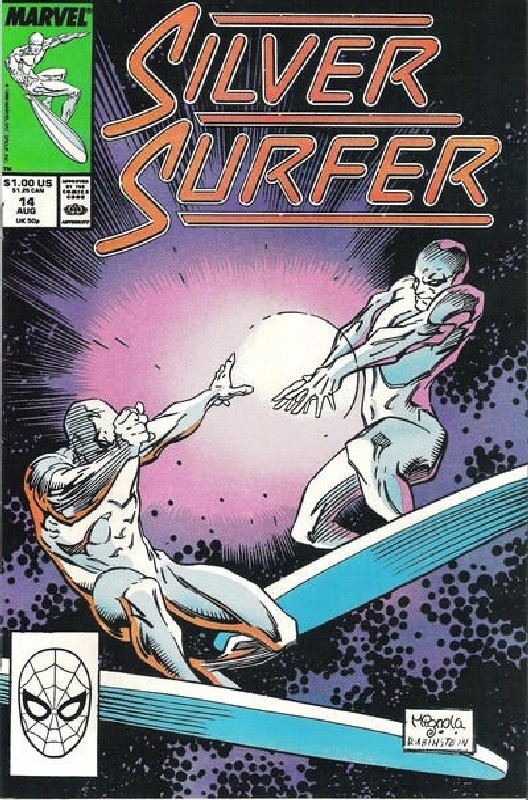 Cover of Silver Surfer (Vol 2) #14. One of 250,000 Vintage American Comics on sale from Krypton!