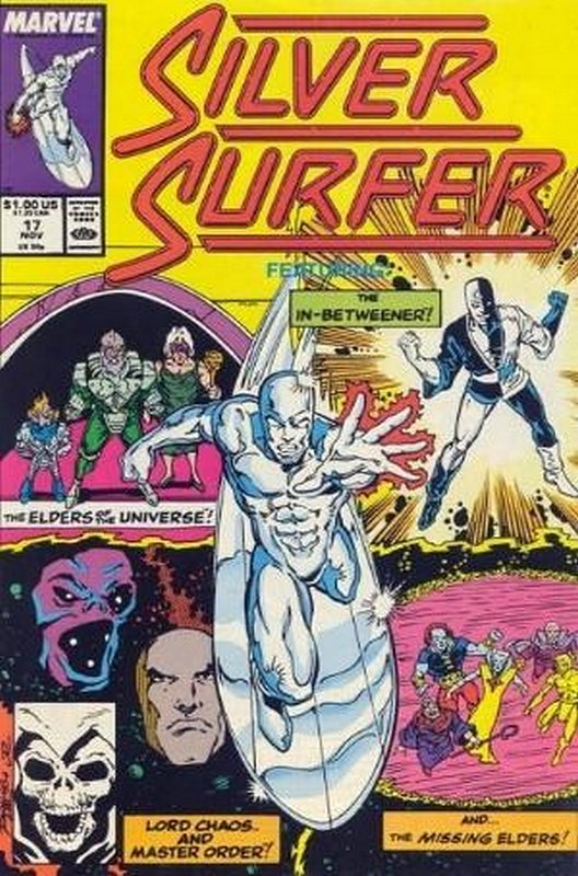 Cover of Silver Surfer (Vol 2) #17. One of 250,000 Vintage American Comics on sale from Krypton!