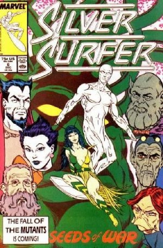 Cover of Silver Surfer (Vol 2) #6. One of 250,000 Vintage American Comics on sale from Krypton!