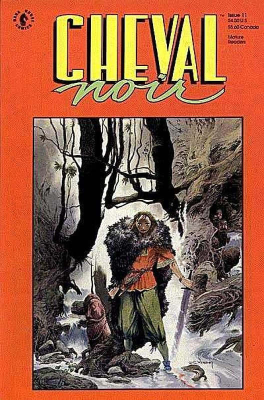 Cover of Cheval Noir (Vol 1) #11. One of 250,000 Vintage American Comics on sale from Krypton!