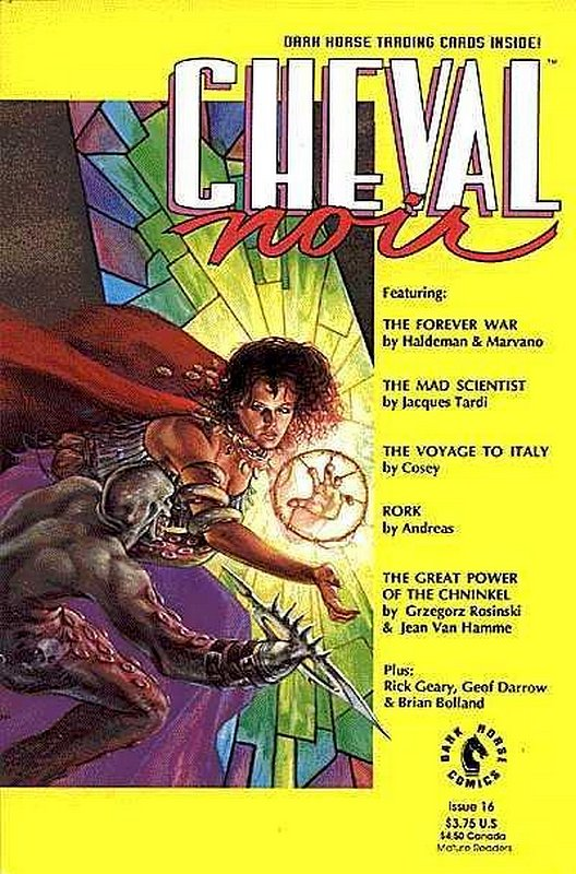 Cover of Cheval Noir (Vol 1) #16. One of 250,000 Vintage American Comics on sale from Krypton!