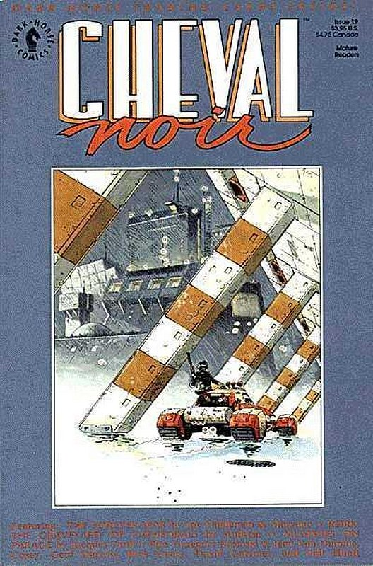 Cover of Cheval Noir (Vol 1) #19. One of 250,000 Vintage American Comics on sale from Krypton!