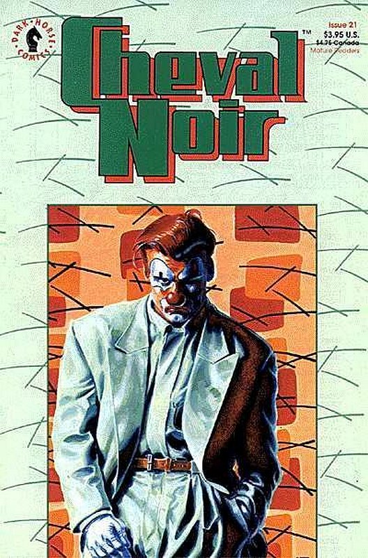 Cover of Cheval Noir (Vol 1) #21. One of 250,000 Vintage American Comics on sale from Krypton!