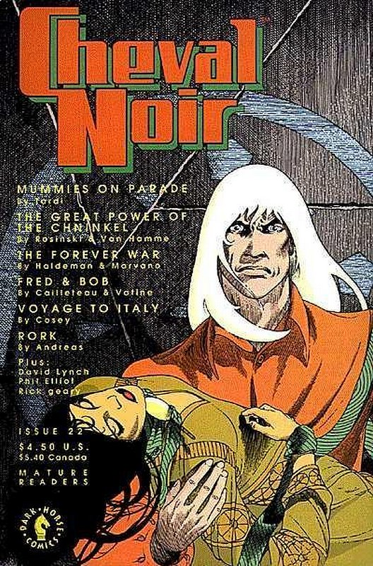 Cover of Cheval Noir (Vol 1) #22. One of 250,000 Vintage American Comics on sale from Krypton!