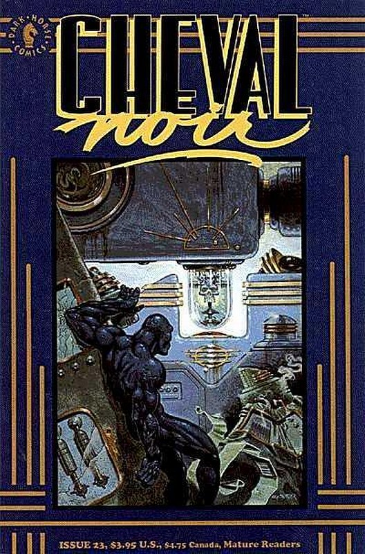 Cover of Cheval Noir (Vol 1) #23. One of 250,000 Vintage American Comics on sale from Krypton!