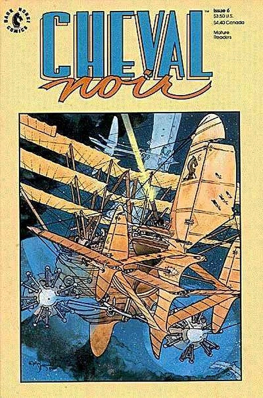 Cover of Cheval Noir (Vol 1) #6. One of 250,000 Vintage American Comics on sale from Krypton!